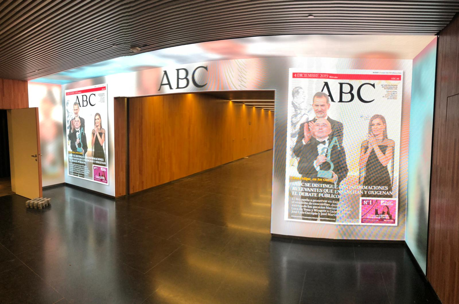 The new headquarters of Vocento and ABC, in Madrid, with ecoactive technology from IMAGIC